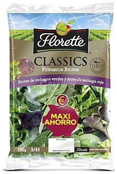 Florette Ensalada primeros brotes classic maxi ahorro bolsa 150 g