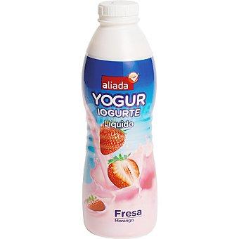 Aliada Yogur líquido de fresa Botella 750 ml