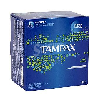 Tampax Tampón super Caja 40 unid