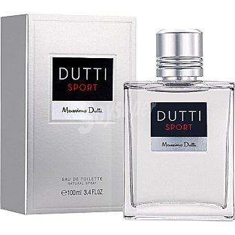 Massimo Dutti Sport natural eau de toilette masculina vaporizador  100 ml