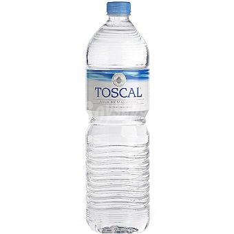 TOSCAL Agua mineral botella 1,5 l 1,5 l