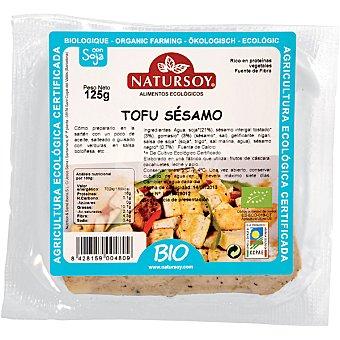 Natursoy bio tofu con sésamo envase 125 g Envase 125 g