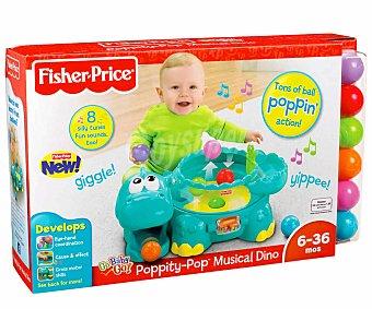 Fisher price Juego Infantil, Hipopótamo Lanzabolas con Música y Sonidos 1 Unidad