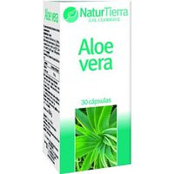 NaturTierra Aloe vera en compromidos Caja 30 unid