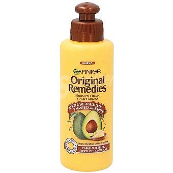 Original Remedies Garnier Aceite en crema sin aclarado con aceite de aguacate y manteca de karite  Frasco 200 ml