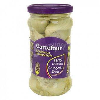 Carrefour Corazones de alcachofas 9/12 unidades 165 G 165 g