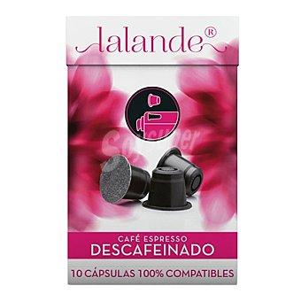 Lalande Café Espresso Descafeinado en cápsulas 10 ud