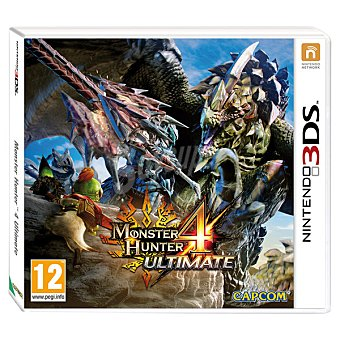 Nintendo Videojuego Monster Hunter 4: Ultimate  1 unidad