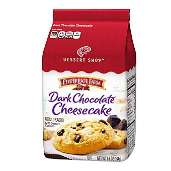 Pepperidge Farm Cookie de chocolate oscuro y chessecake 244 g