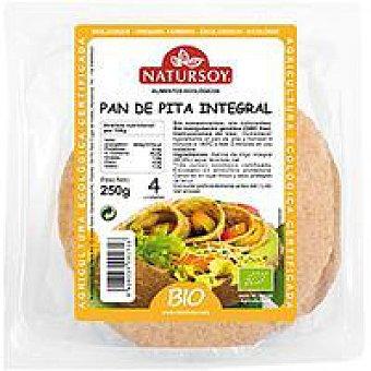 Natursoy Pan de pita integral Paquete 280 g