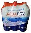 Agua mineral natural (mineralizacion debil) Pack 6 x 2 l - 12 l Aguadoy