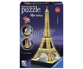 RAVENSBURGER Puzzle de la Torre Eiffel en 3D 1 Unidad
