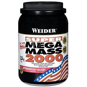WEIDER Mega Mass 2000 Hidratos de carbono sabor fresa Bote 1,5 kg