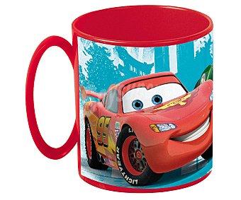 Disney Taza apta para microondas y lavavajillas con diseño de Cars Racing Sport Network, 36 centilitros 1 Unidad