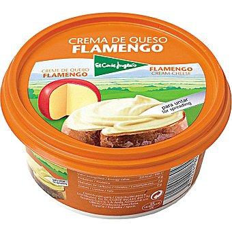 El Corte Inglés Crema de queso flamengo Tarrina 125 g