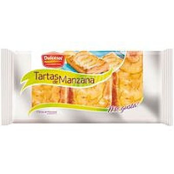 Dulcesol Tarta de manzana 3 unid de 195 gr
