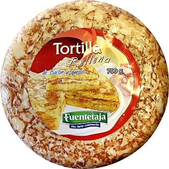 Campifood Tortilla rellena de bacon y queso Envase 700 g
