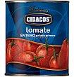 Tomate entero 480 g Cidacos