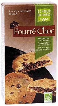 Moulin Pivert Cookies Rellenas de Chocolate Pepitas Eco Moulin Pivert 175g 175 gr