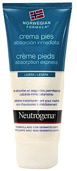Neutrogena Crema de pies absorción inmediata Tubo 100 ml