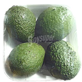 Planeta verde Aguacates peso aproximado bandeja 1 kg 3-4 unidades