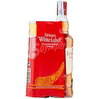 White Label Whisky Botella 70 cl + Pringles