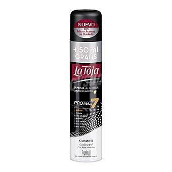La Toja Espuma de afeitar con micro aceites Protect 7 250 ml
