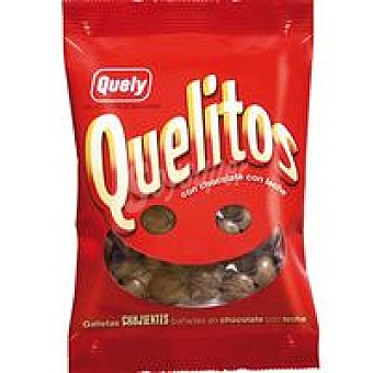 Quely Galleta Quelitos Bañadas En Chocolate Con Leche 70Gr