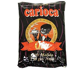 Carioca Café molido natural oro Paquete 250 g