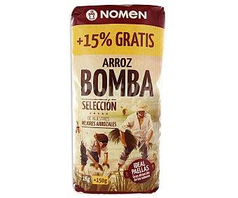 Nomen Arroz bomba (redondo) 1 kilogramo
