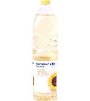 Carrefour Discount Aceite refinado de girasol Botella de 1 l
