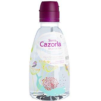 Sierra Cazorla Agua mineral natural de mineralización débil ideal para la alimentación infantil Botella de 30 cl