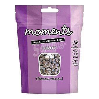 Moments Snacks semihúmedos grain free para perros con pavo light Envase 60 g