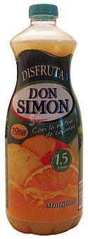 Don Simón Nectar multifrutas sin azucar Botella 1,5 l