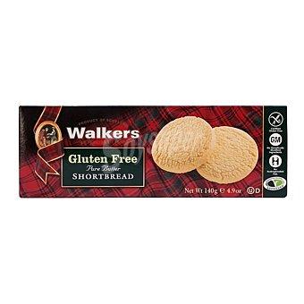 Walkers Galletas de mantequilla sin gluten Caja 140 g