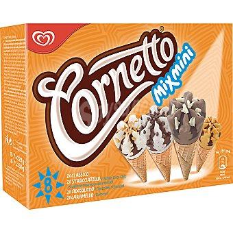 Cornetto Frigo Mini conos varios sabores Mix  Pack de 8x480ml