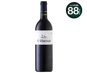 EL VÍNCULO Vino tinto reserva con denominación de origen la Mancha botella de 75 centilitros