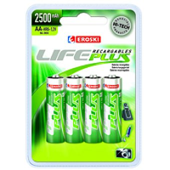 Eroski Recar Hr06 Life Plus Bl4 2.500