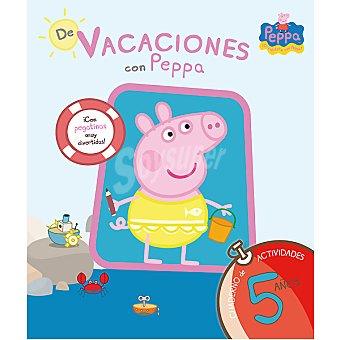 PEPPA PIG Cuaderno de vacaciones con 5 años