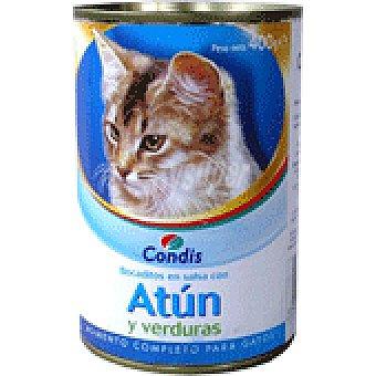 VERDURAS Comida gato condis atun- 415 GRS