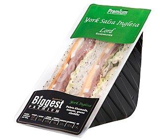 Lord Sandwiches Sándwich de paleta de cerdo, con queso cheedar y salsa de mostaza Biggest 225 g
