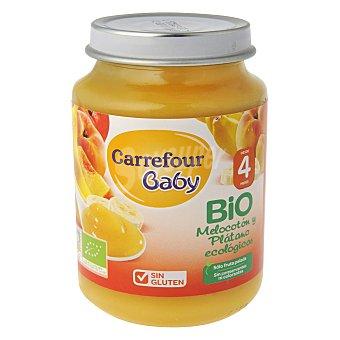 Carrefour Bio Tarrito de melocotón y plátano 200 g