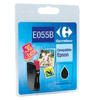 Carrefour Cartucho de tinta CFE055B negro carrefour Unidad