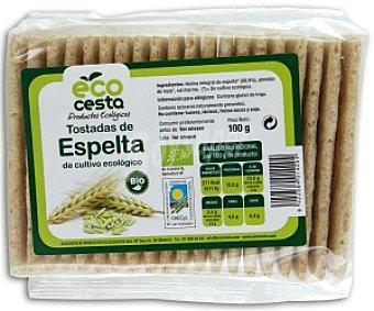 Ecocesta Biotostadas de espelta 100 gramos