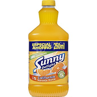 Sunny Delight Refresco multifrutas + 250 ml gratis Envase 1,5 l