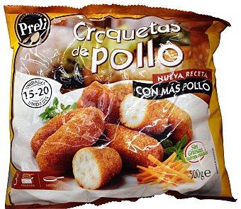Preli Croquetas congeladas pollo Paquete 500 g