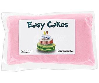 EASY CAKES Fondant, pasta de azúcar rosa 250g