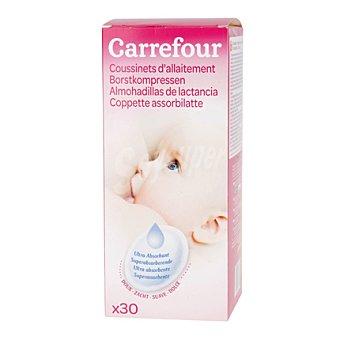 Carrefour Almohadilla de lactancia 30 ud