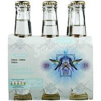 Eroski Tónica sabor jengibre-cardamomo Pack 6x20 cl