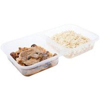 Bo de Debo Fricando-arroz Pilaf Bandeja 350 g